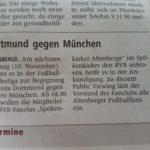 Westfälische Nachrichten 09.11.2018